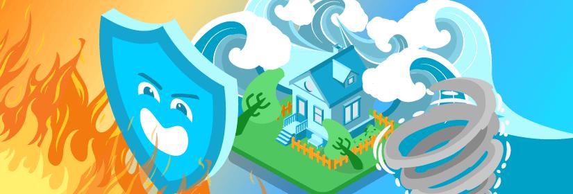 assurer sa maison contre les catastrophes naturelles